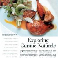 Exploring Cuisine Naturele