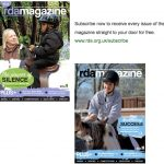 RDA magazine front covers Jan and April2106