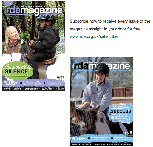 RDA launches flagship magazine for disability equestrianism